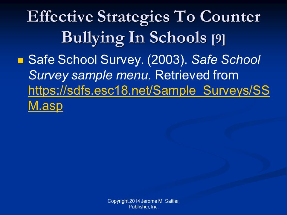 Effective Strategies To Counter Bullying In Schools [9]